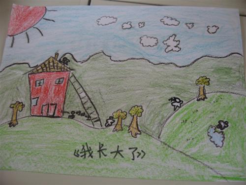 法制知识儿童画