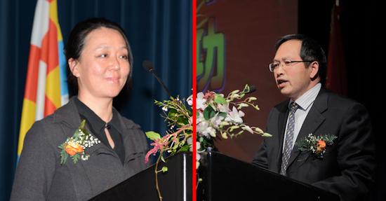 比利时华人青年联合会隆重举行第二届理事会就职典礼 朱旭林荣任会长图片