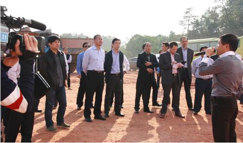 省侨联副主席张维仁带领世界浙商走进建德、兰溪考察