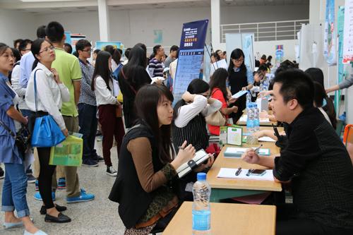 浙江省2015届高校毕业生就业招聘会侨商企业专场举行