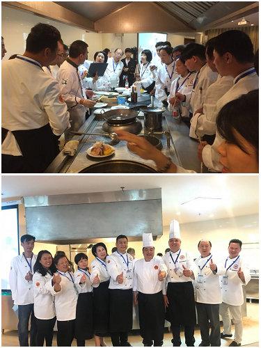 省侨联海外中餐烹饪技能培训班助力临海海外餐馆创办者